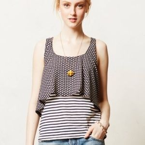 Anthropologie Meadow Rue Layer Tank